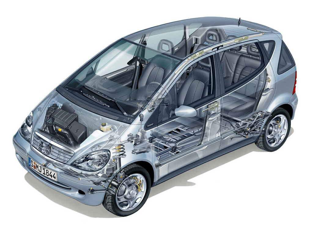 透明的汽车 - 影音贴图