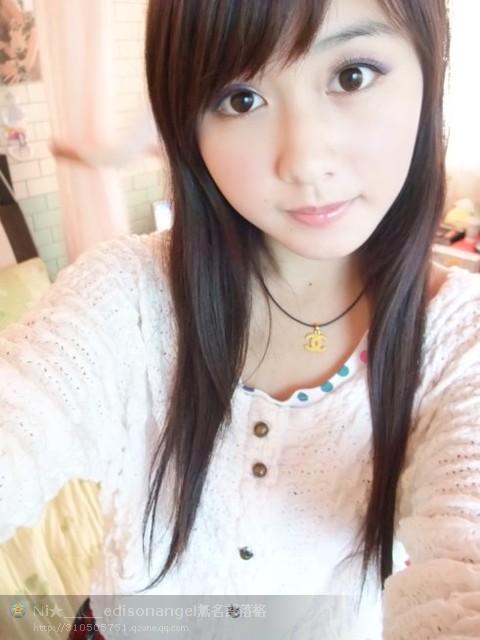 刘孟姗素颜在学校的照片