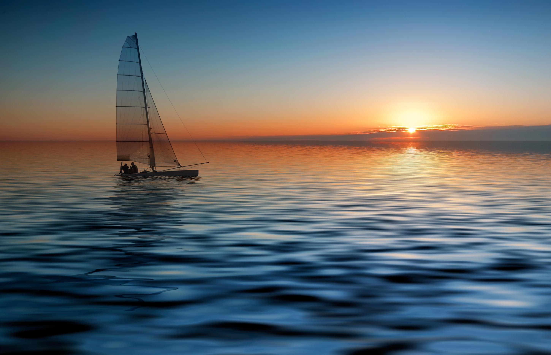 大海帆船 高清大图