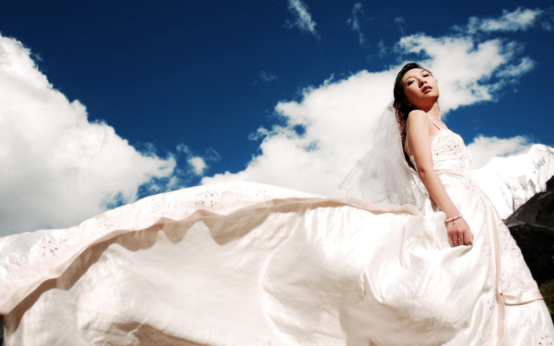 电脑壁纸欧美婚纱