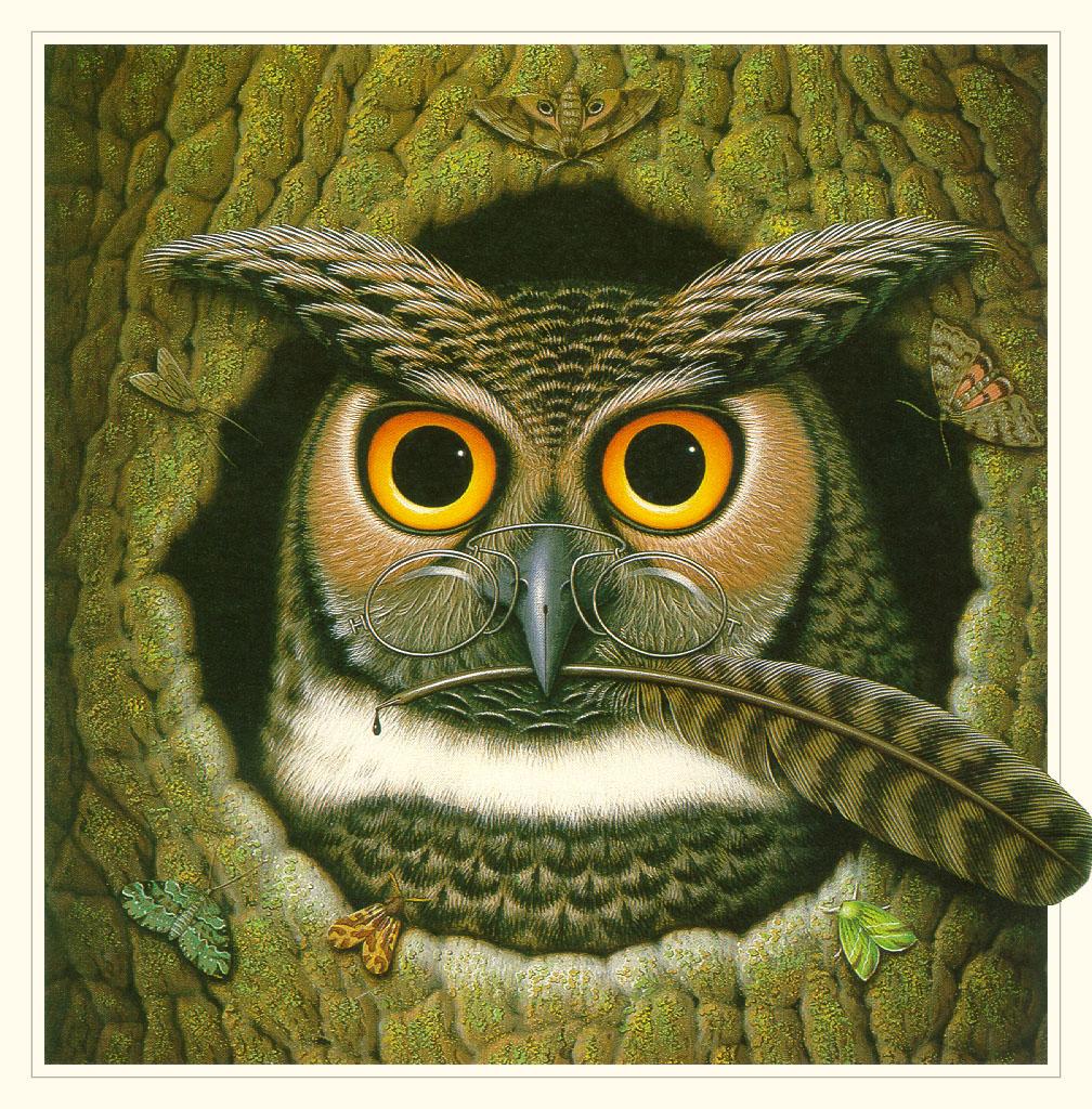james动物绘画作品[17p]