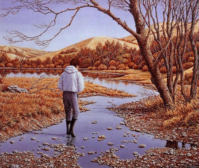美国乡村风景油画[27p]