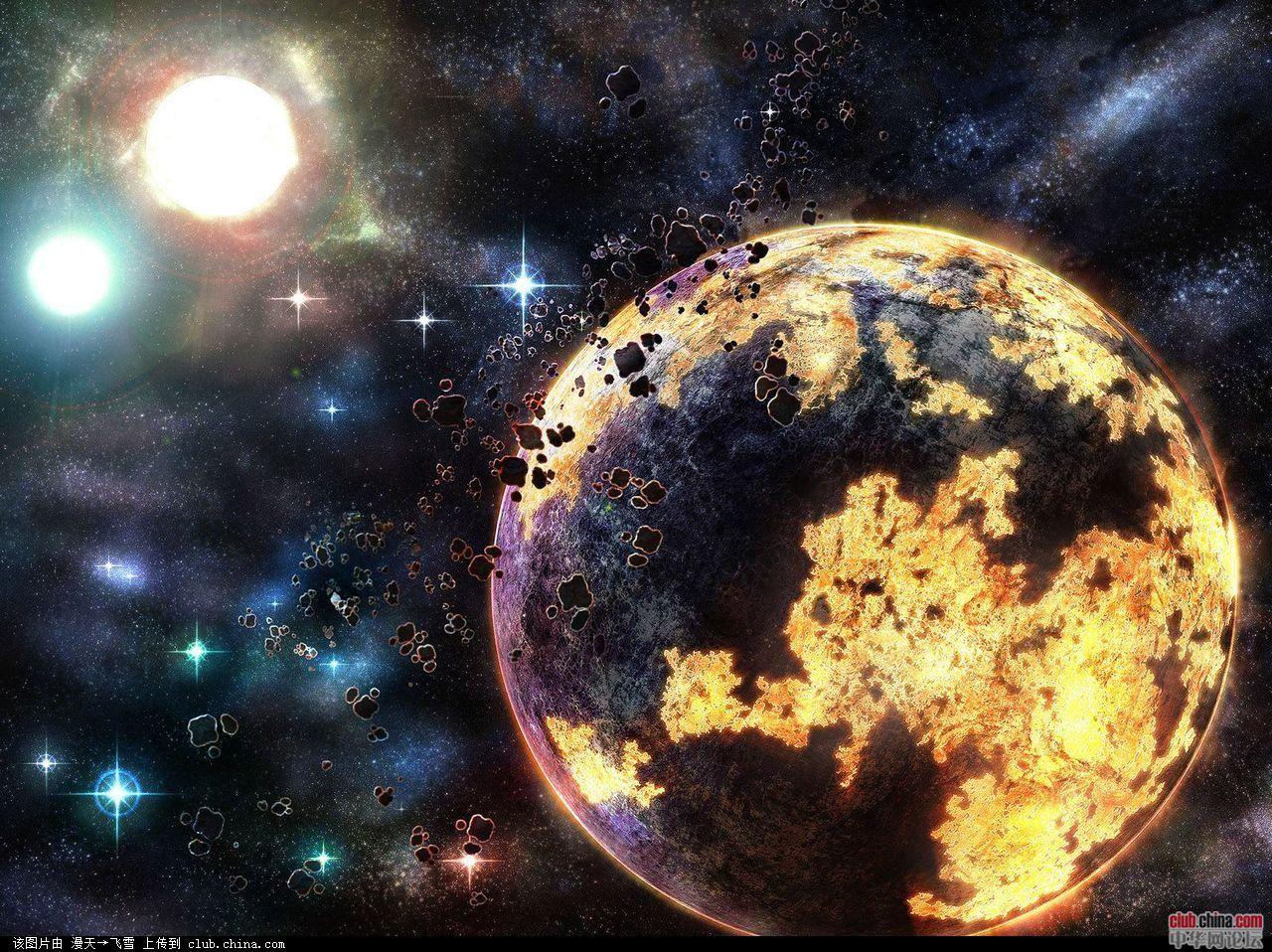 视觉大餐-美丽的宇宙星空